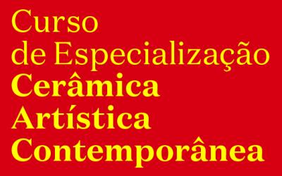 Curso de Especialização em Cerâmica Artística Contemporânea