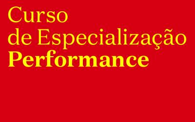 Curso de Especialização em Performance