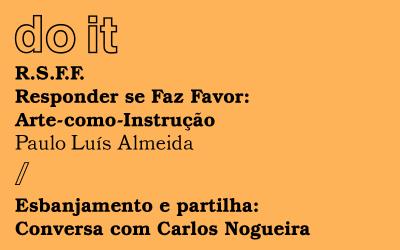 Paulo Luís Almeida e Carlos Nogueira