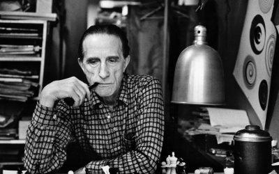Jeu d'échecs avec Marcel Duchamp